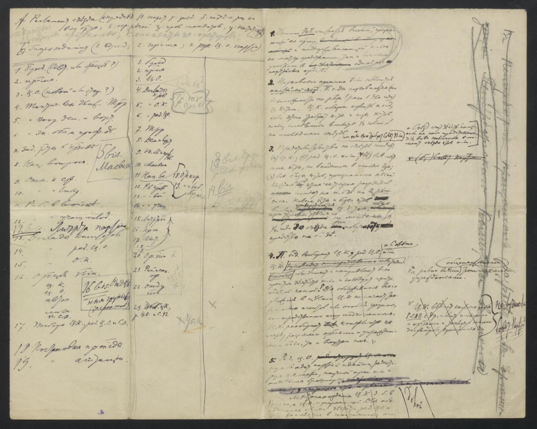 Первоначальный текст проекта устава РСДРП, с последующими дополнениями к нему и окончательной редакцией проекта устава.